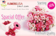 Make your affection bond of love strong with fresh flower