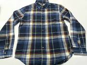 TEXDEN- BANANA REPUBLIC - MEN'S FLANNEL LONG SLEEVE SHIRT